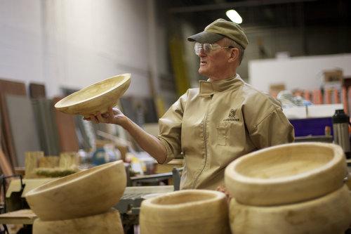 artisan wood bowls by Edwards Smith