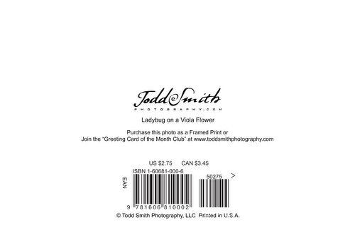 greeting card barcode
