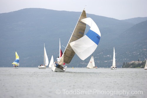 spinnaker in a strong wind