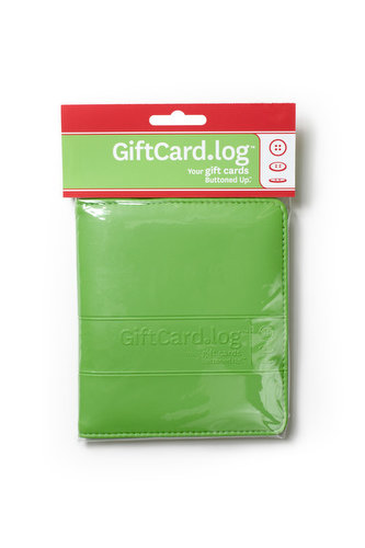 GiftCard.log from Buttoned Up, Inc. in the wrapper