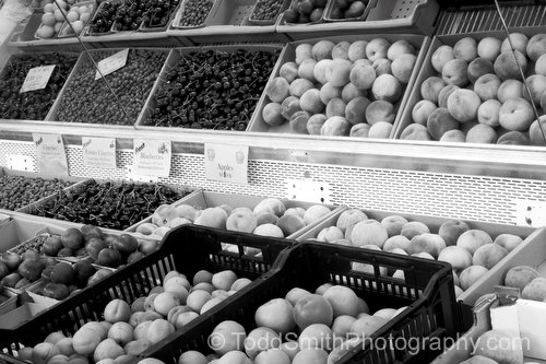 Fresh Fruit at the Fruit Stand