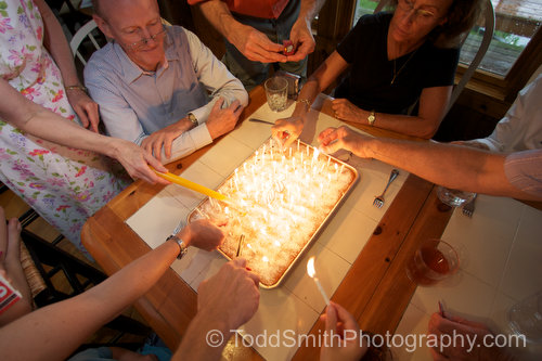 Photography Newsletter:  My Dad's 70th Birthday