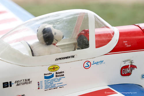 Snoopy as a flying ace