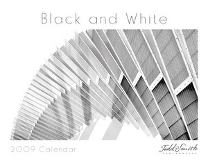 Black and White Calendar Design (not used in 2009)