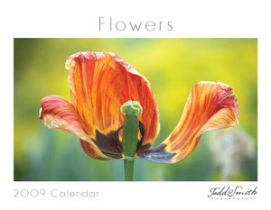 Flowers Calendar Design (not used in 2009)