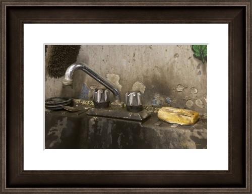 framed print for a bathroom